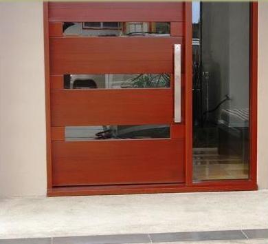 Fotos y dise os de puertas cerradura para puerta de madera for Disenos puertas de madera exterior