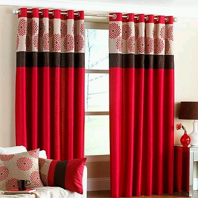 Modern curtains for living room part 2 for Cortinas de living