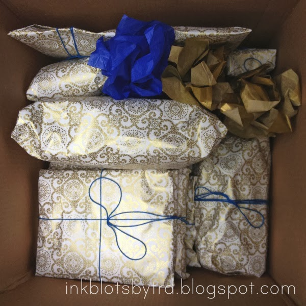 ink blots by trd baby shower in a box
