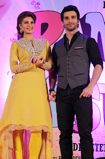 Jacqueline& Girish performs at 'Ramaiya Vastavaiya' song launch
