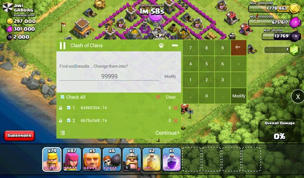 Cara Memperbanyak Troops Game Clash of Clans