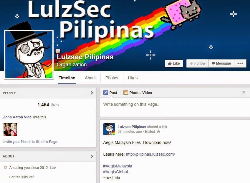 Lulzsec Pilipinas