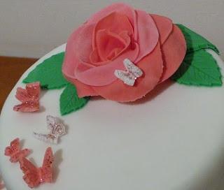 flor de fondant