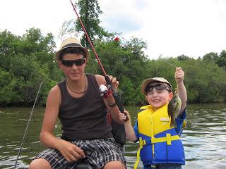 image Family Fishing Child with Adult Courtesy LetsFish Guiding