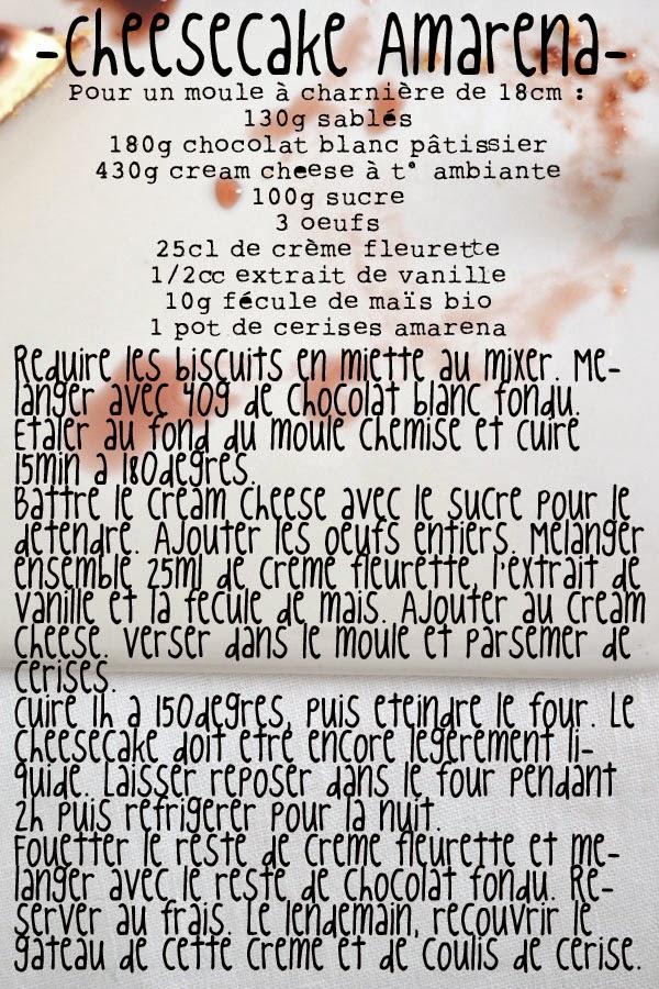 recette cheesecake amarena spoonencore