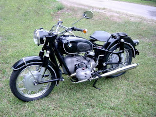 Vintage BMW Motorcycles Picture