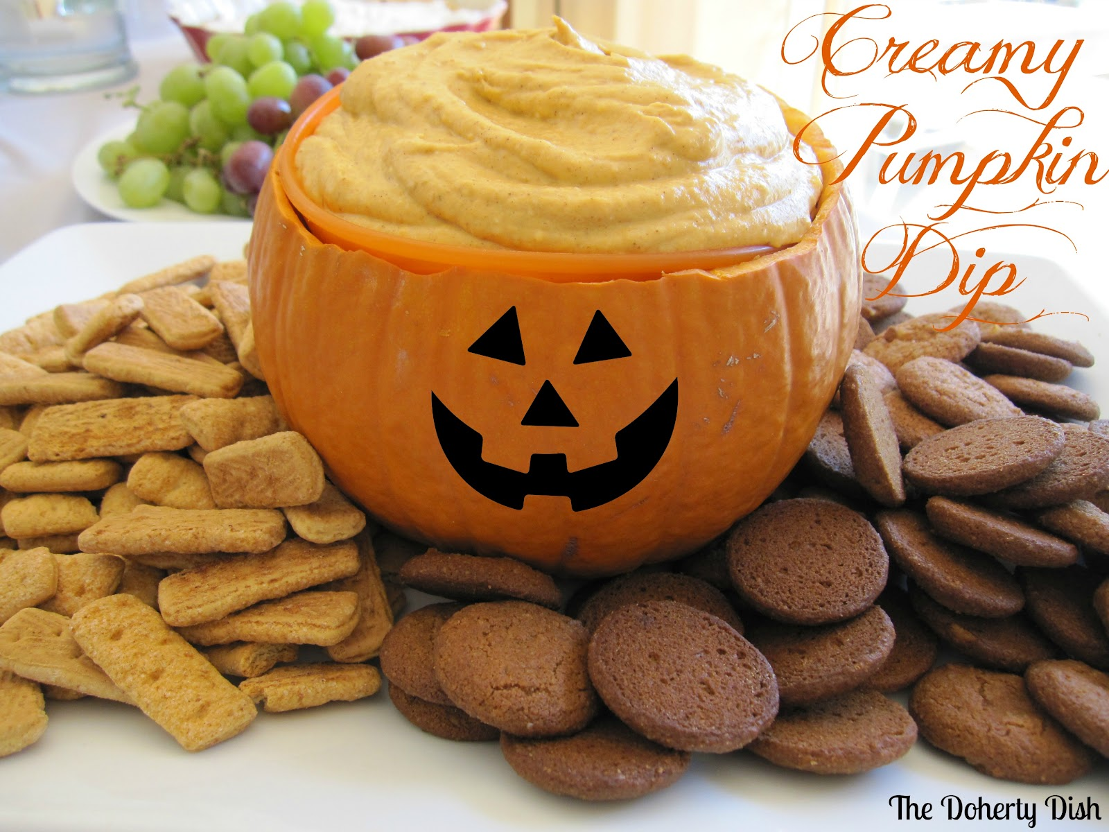 The Doherty Dish: Creamy Pumpkin Dip