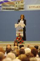 Μαρία Μαντουβάλου: Οι αρνητές του Ελληνικού έθνους δεν μπορούν να ανήκουν σε αυτό.