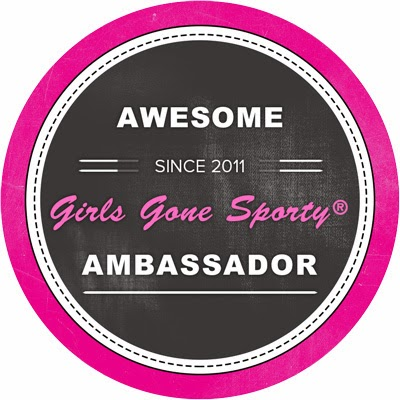 I'm a Girls Gone Sporty Ambassador!