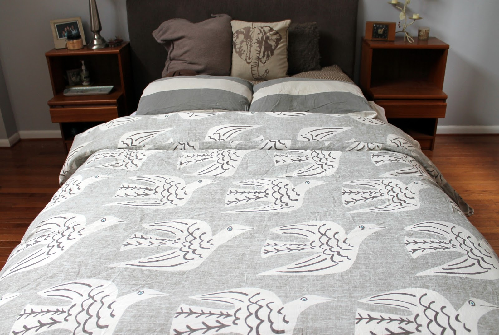 bird bed quilt mill duvet early cotton kiely granite dove cover orla