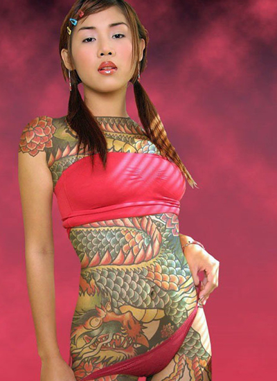 Japanese Dragon Tattoo Ideas