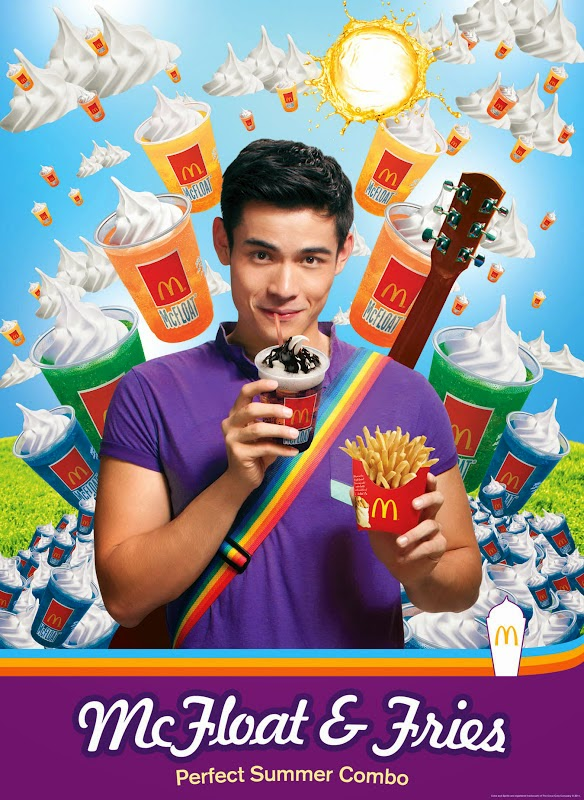 Xian Lim McDonalds ads