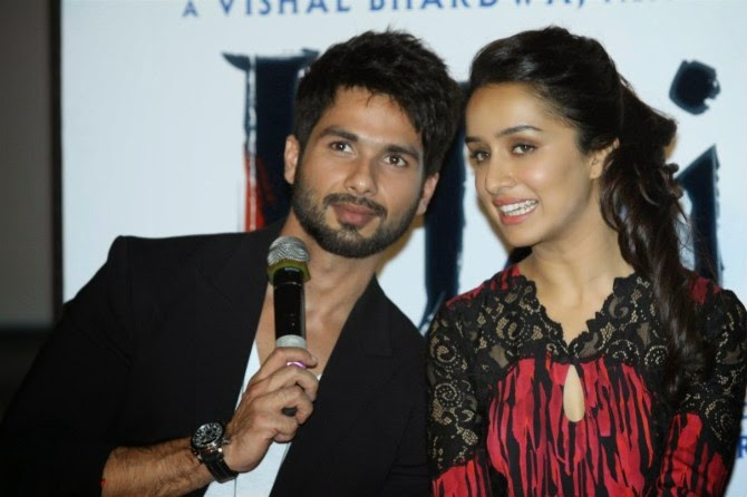 Haider Movie Trailer Launch Event