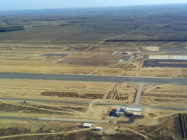 Estado prevê que terminal será entregue em 2017 (Foto: Divulgação / Seinfra)