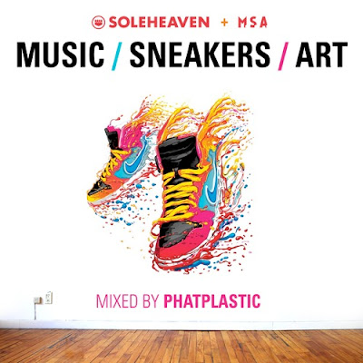 Phatplastic - The Music - Sneakers - Art Mixtape