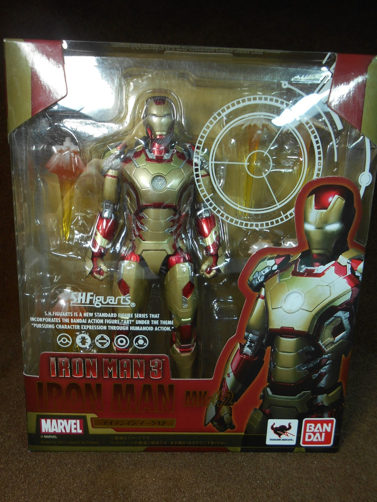 now i dont have the mk 6 figuarts but i can definitely say that the box style in an overall sense was retained from the iron man 2 releases bootleg iron man 2 starring