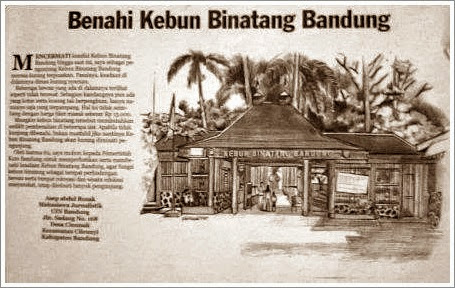 Surat Pembaca: Benahi Kebun Binatang Bandung