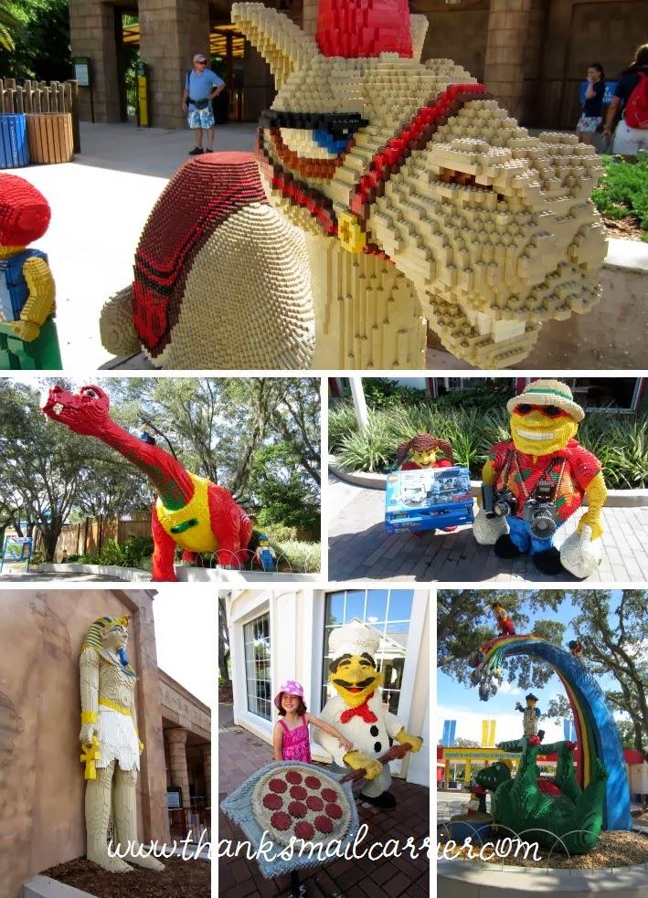 Legoland structures