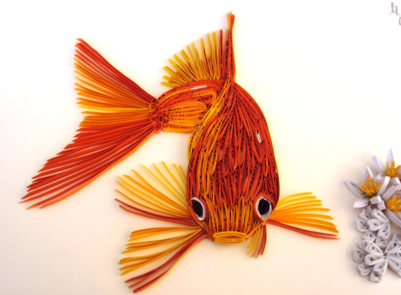 Рыбка из бечевки инструкция