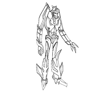 #17 Transformers Coloring Page