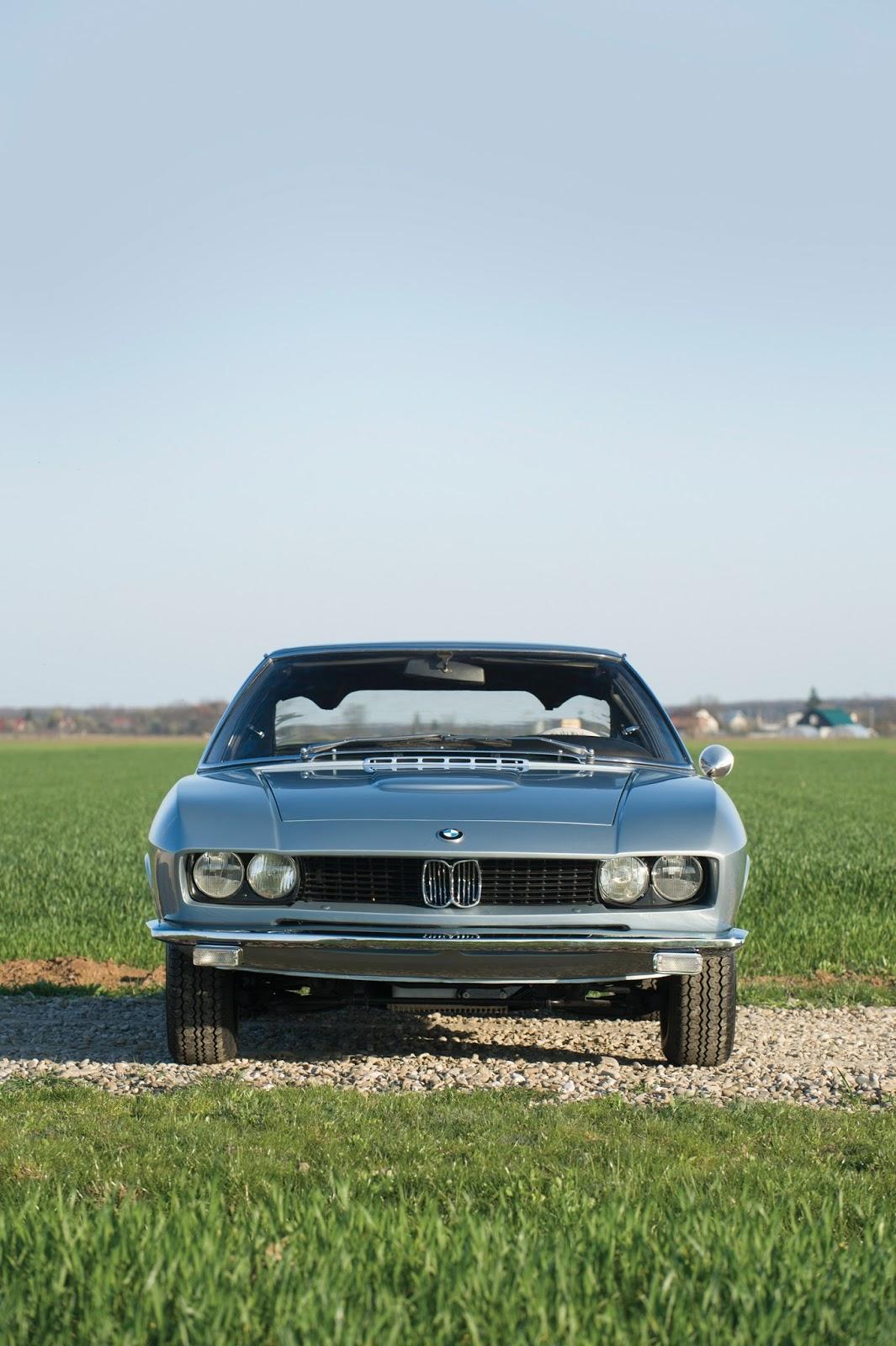 One Off 1967 Bmw Glas 3000 V8 Fastback By Frua Hitting The
