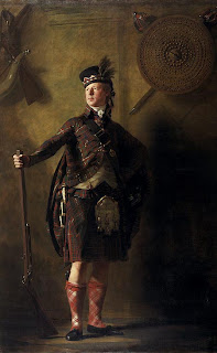 Sir Henry Raeburn painting - Colonel Alastair Ranaldson Macdonell of Glengarry