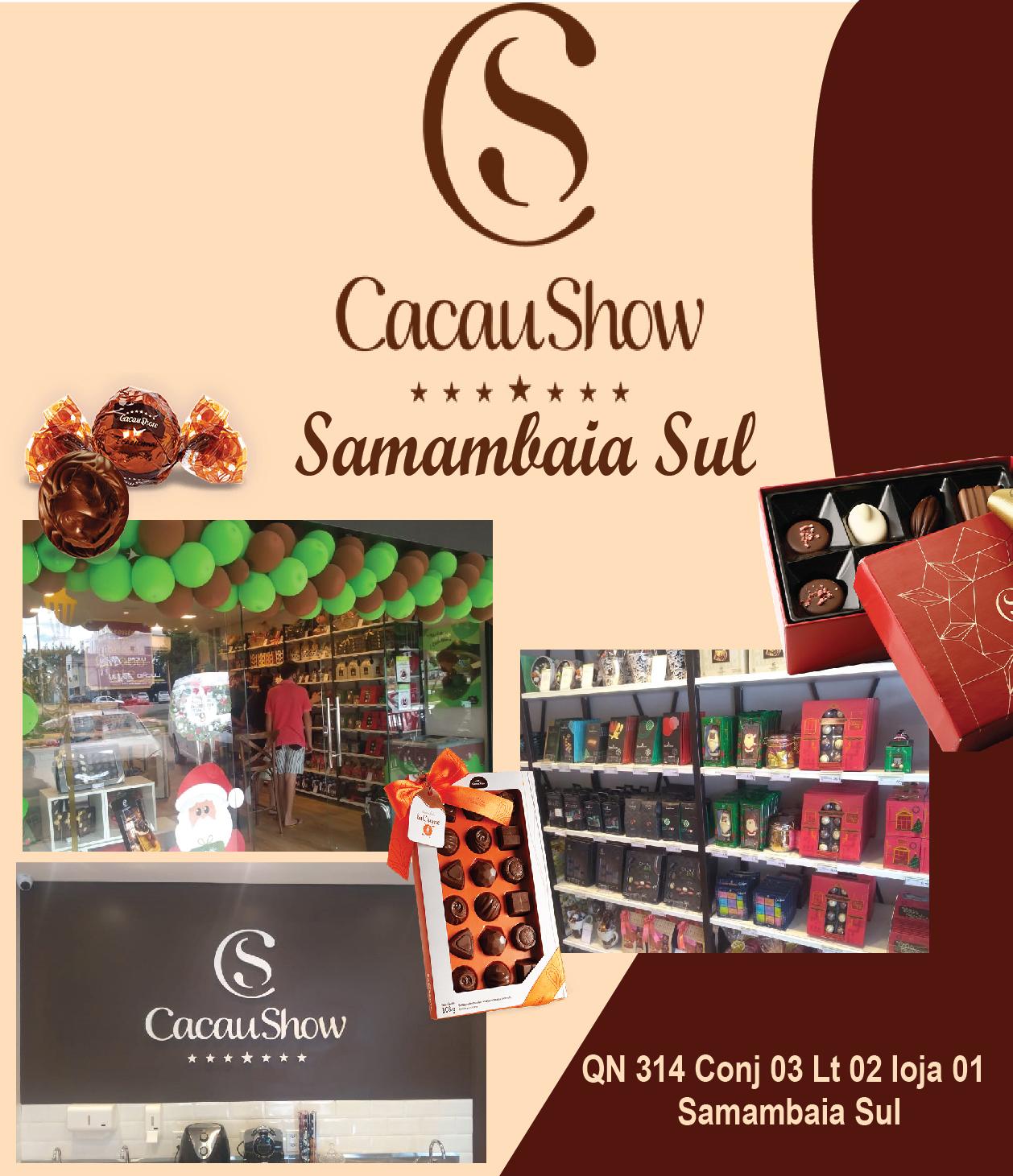CACAU SHOW SAMAMBAIA SUL