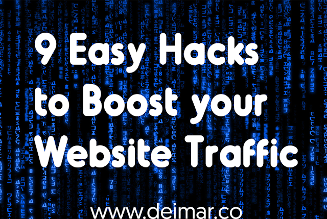 9 Easy Hacks to Boost your Website Traffic