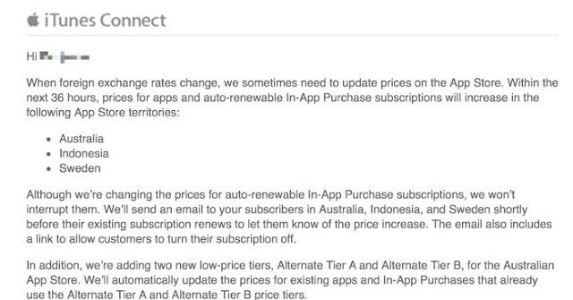 Rupiah Melemah, Apple Naikkan Harga Aplikasi App Store