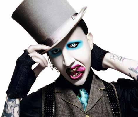 Halloween makeup ideas Marilyn Manson