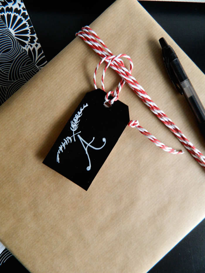 5 Minute Gift Tag Diy Wrap Inspiration Poppytalk