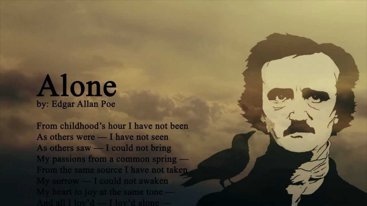 account of the early life of edgar allan poe The raven (illustrated) • a detailed biography of edgar allan poe early life—from his brush with an escaped convict on the marshes of.