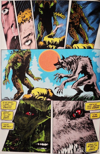 Swamp Thing # 40, 41 42 - Moore, Bissette, Alcal Totleben
