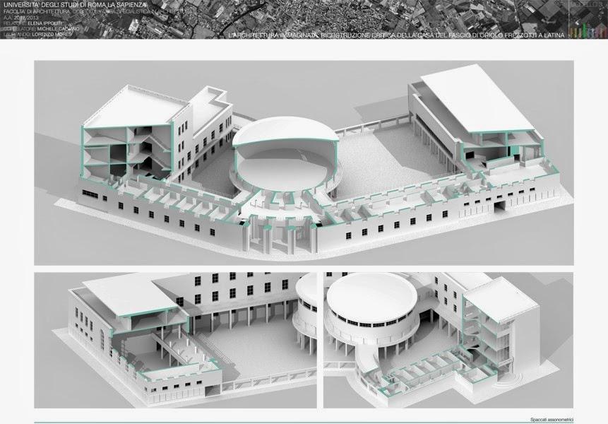 Mcarchitetture nuovi modelli di rappresentazione per la for Modelli di casa per la costruzione