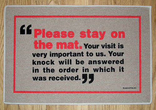 Doormats With Funny Quotes Quotesgram