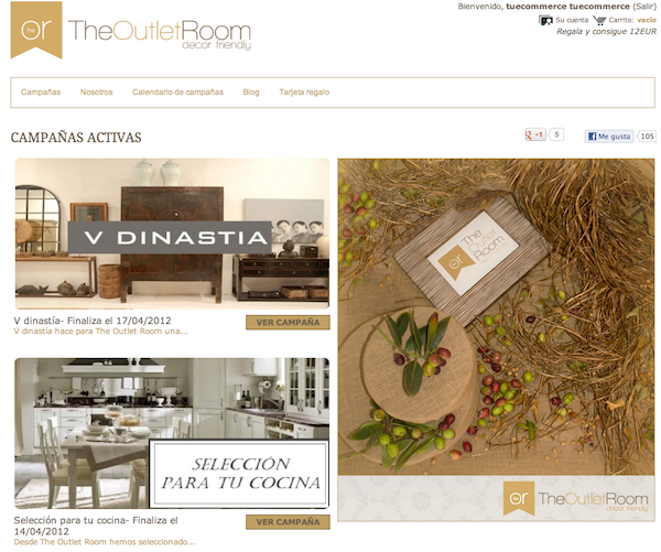 The Outlet Room
