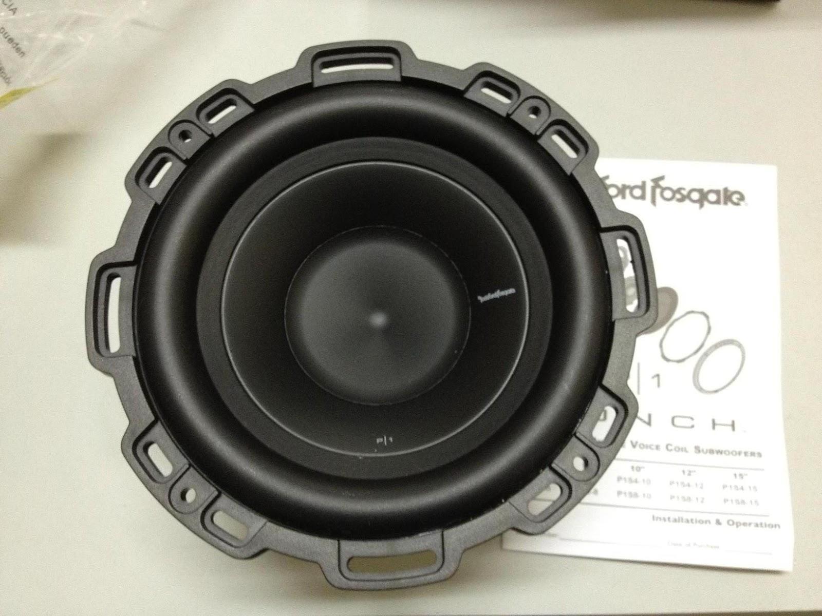 Rockford fosgate p1s8