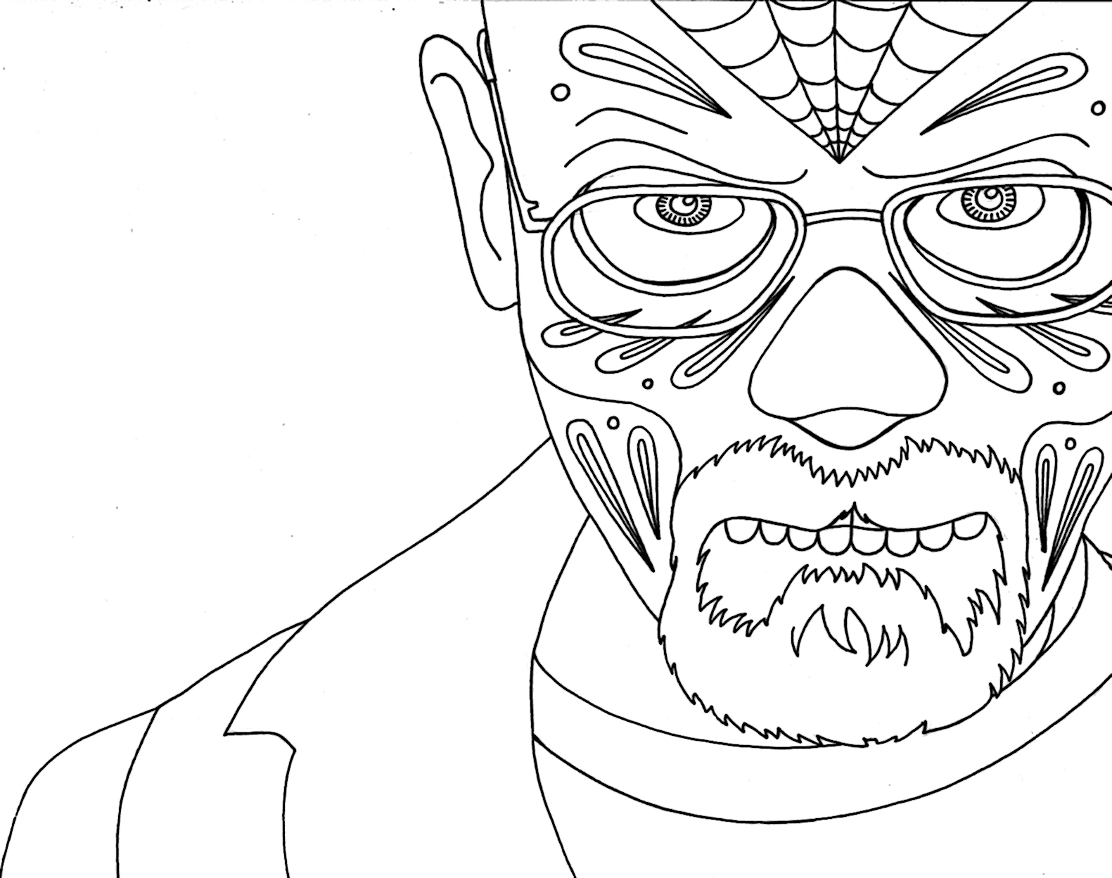 breaking bad coloring page coloring pages of epicness