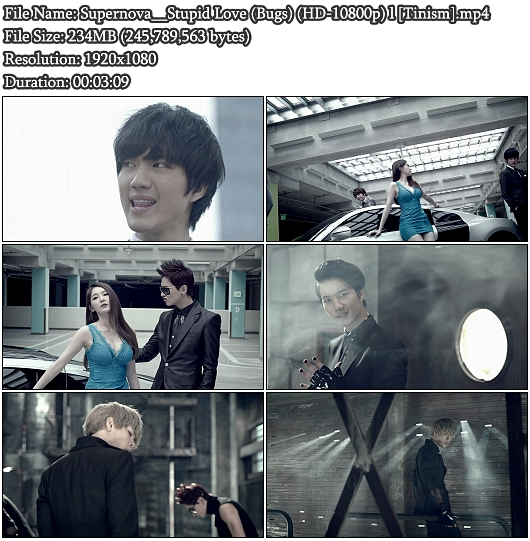 MV Supernova (Choshinsung) - Stupid Love (Bugs Full HD 1080p)