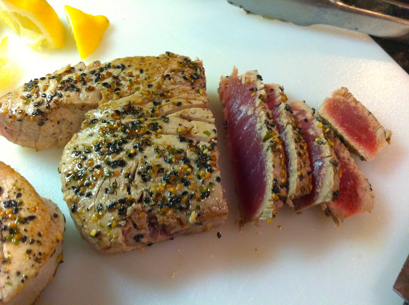 Reckless Abandon: Seared Ahi Tuna