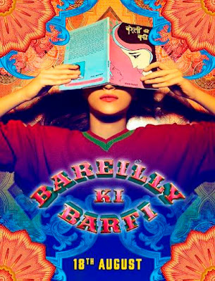 Poster Of Bollywood Movie Bareilly Ki Barfi 2017 300MB DVDScr Full Hindi Movie