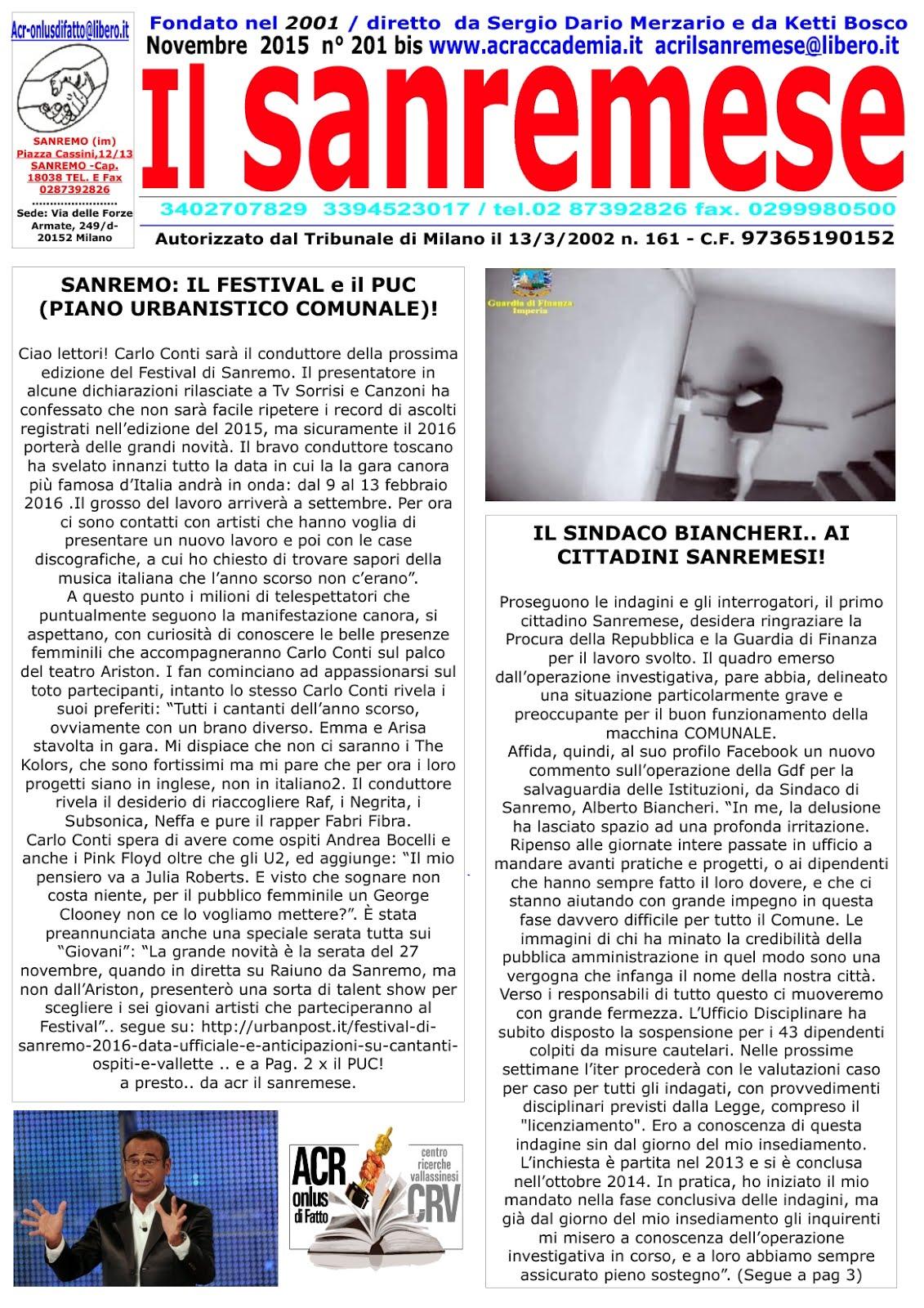 ACR e CRV ( acr accademia, T. L. e milanese)