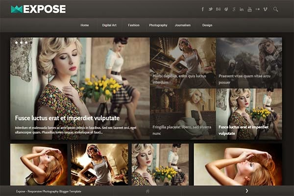 expose-free-blogger-templates
