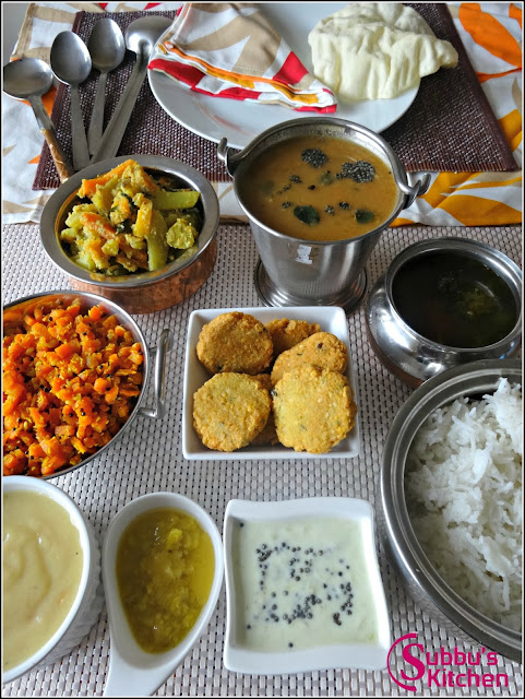 Diwali Special Lunch Menu