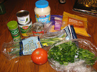 Hot Corn Dip Ingredients