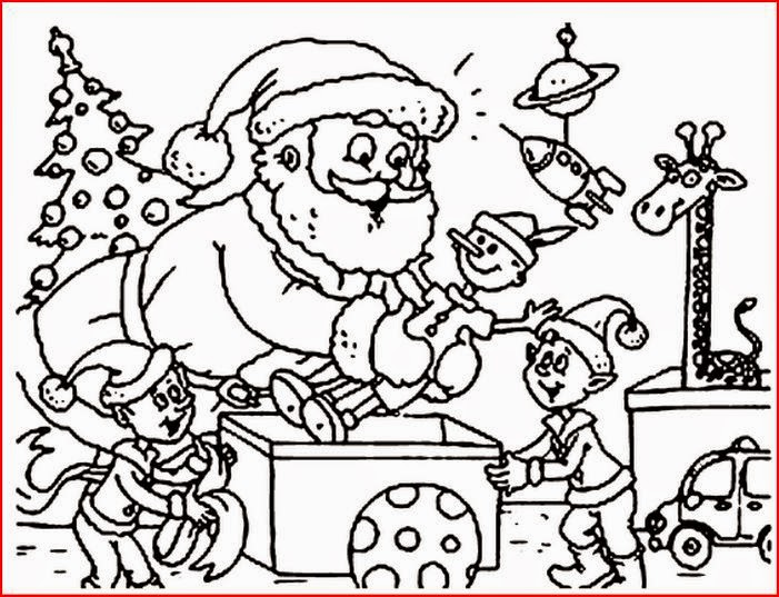 Christmas elf coloring pages coloring.filminspector.com