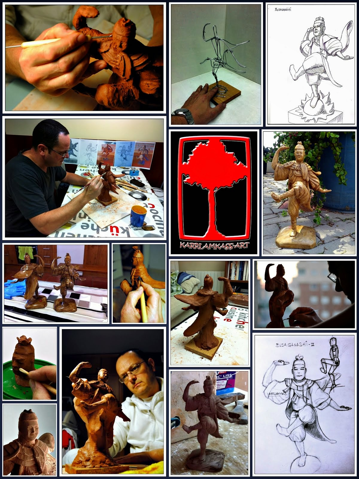 BUSAGANASHI'S CREATION PROCESS