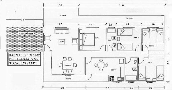 Planos de casas modelos y dise os de casas planos para for Como hacer un plano de un piso