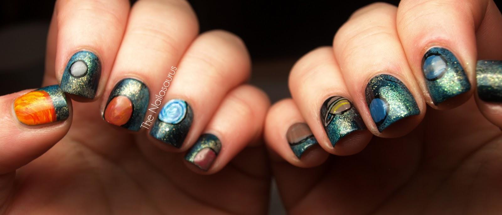 Galaxy Nails… Literally