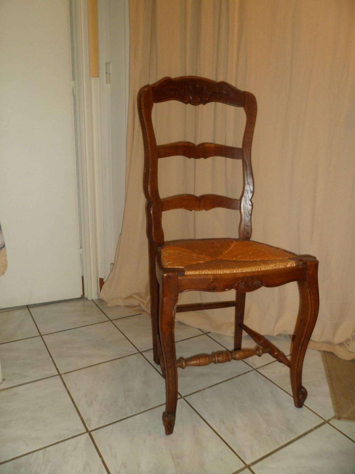 rajeunir une chaise rustique - Chaise Rustique